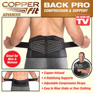 Copper Fit Advanced Back Support Pro - 48424