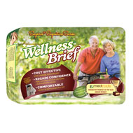 Wellness Absorbent Disposable Tab Briefs - 48459
