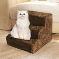 3 Step Pet Staircase to Help Small and Older Pets - 48473