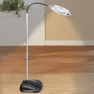 Portable Cordless Lighted Magnifying Lamp - 48498