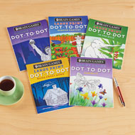 Large Print Dot to Dot Books - Set of 5 - 48503