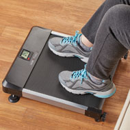 Self-Powered Sitting Treadmill with LCD Screen - 48596