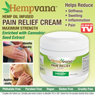 Hempvana Pain Relief Cream - 48627