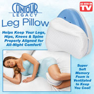 Contour Legacy Leg Pillow with Memory Foam - 48719