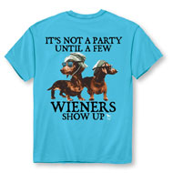 Party Wiener Funny Novelty T-Shirt - 48768