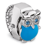 Owl Stretch Ring Watch - 49497
