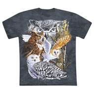 Hidden Owls T-Shirt - 49672