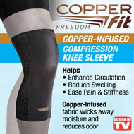Copper Fit Freedom Compression Knee Sleeve - 49752