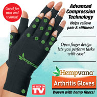 Hempvana Arthritis Compression Gloves - 49754