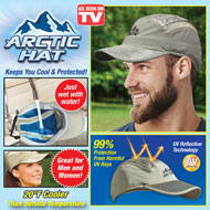 Arctic Baseball Cap with Ventilation - 49806