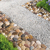 Stone Garden Border Path Mats - Set of 4
