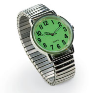 Easy to Read Glow in the Dark Watch - 93089