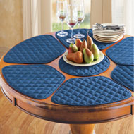 Kitchen Table Placemat and Centerpiece Set - 7 pc - 93111