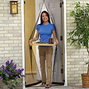 Hanging Instant Clear Screen Door Panels