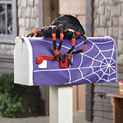 Fall & Halloween Decorative Stuffable Mailbox Cover
