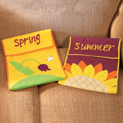 "17"" Seasonal Accent Pillow Cover Sets"
