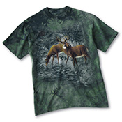 Deer Crossing Nature Lovers T-Shirt