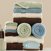 Solid Color Bath Towel Set