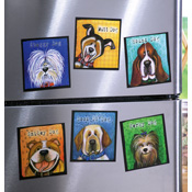 Lovable Cartoon Pet Magnets