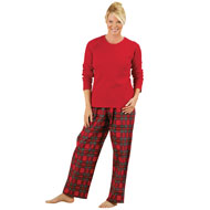 Cozy Country Plaid Flannel Pajamas - 93414