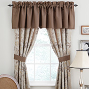 Woodland Curtain Panel Pair & Tiebacks