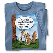 Squirrel Nuts Novelty Tee