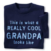 Really Cool Grandparent Novelty T-Shirt - 94116