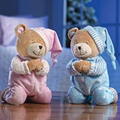 Praying Teddy Bear Stuffed Animal