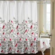 Cardinal Holiday Shower Curtain - 94380