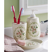 Hummingbird Bathroom Vanity Accessories