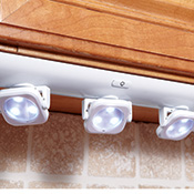 LED White Under Cabinet Swivel Lights - 95303