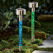 Solar Bubble Garden Path Lights 2 PC