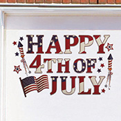 Patriotic Holiday Garage Door Magnet Set - 95420