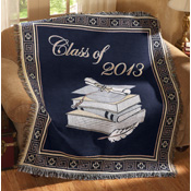 Class of 2013 Graduation Tapestry Throw Blanket