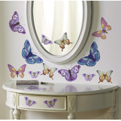 Butterfly Removable Wall Decal Stickers - 25ct.
