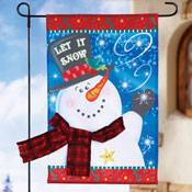 Fall & Winter Seasonal Garden Flag Set