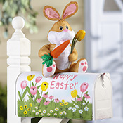 Easter Bunny Decorative Mailbox Cover