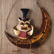 Professor Owl Hanging Wall Decoration