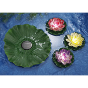 4-pc. Decorative Floating Solar Lotus Flower Lights