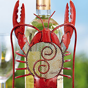 Whimsical Lobster Decorative Wine Bottle Holder