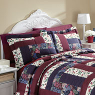Caledonia Patchwork Pillow Shams Set - 96348