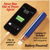 Portable USB Smart Phone Charger