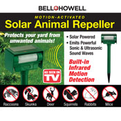Bell & Howell Solar Animal Repeller Stake - 96637