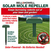 Bell & Howell Solar Mole Repeller Stake