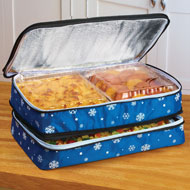 Snowflake Expandable Insulated Food Carrier - 96921