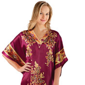 Embroidered Regal Caftan Lounger