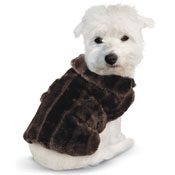 Faux Fur Winter Dog Coat - 97017