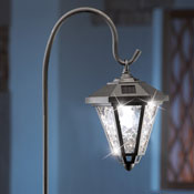 Sparkling Solar Lantern with Hook - 97281