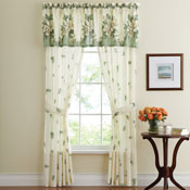 Floral Magnolia Garden Curtain Collection - 97604