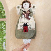 Country Angel Plastic Grocery Bag Holder - 97633